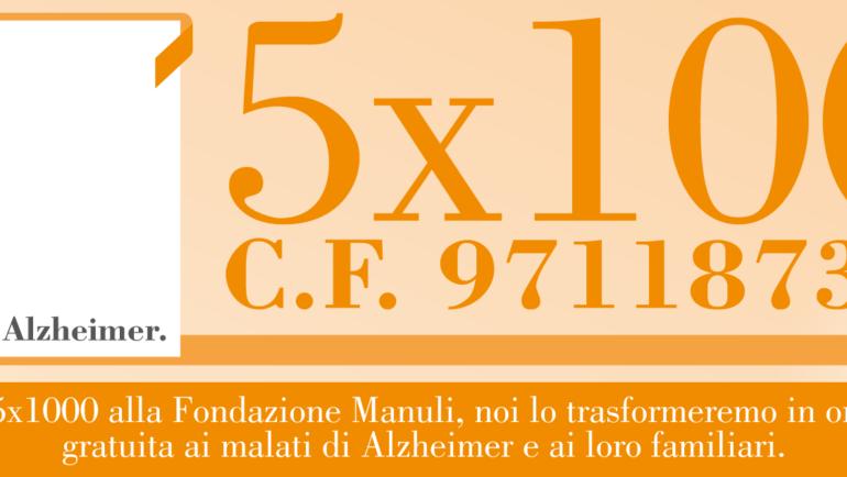 Il tuo 5×1000 a Fondazione Manuli