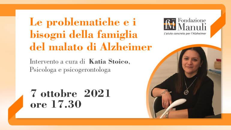 Le problematiche e i bisogni della famiglia del malato di Alzheimer